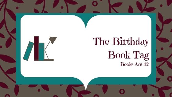 The Birthday Book Tag Banner