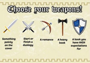 Medieval A Thon Weapons