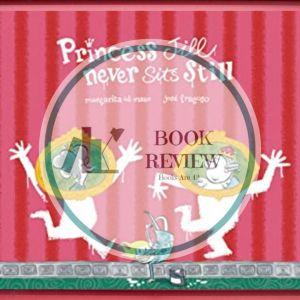 Princess Jill Never Sits Still Pin