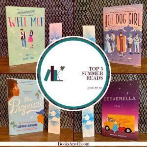 Top 5 Summer Reads Pin