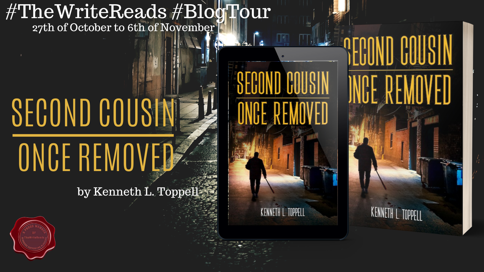 Second Cousin Once Removed Blogtour Banner